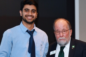 Congratulations Abhishek Shibu for winning the Three Minute Thesis (3MT) Competition!
