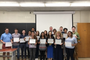 Students Complete Molecular and Cellular Immunology Workshop