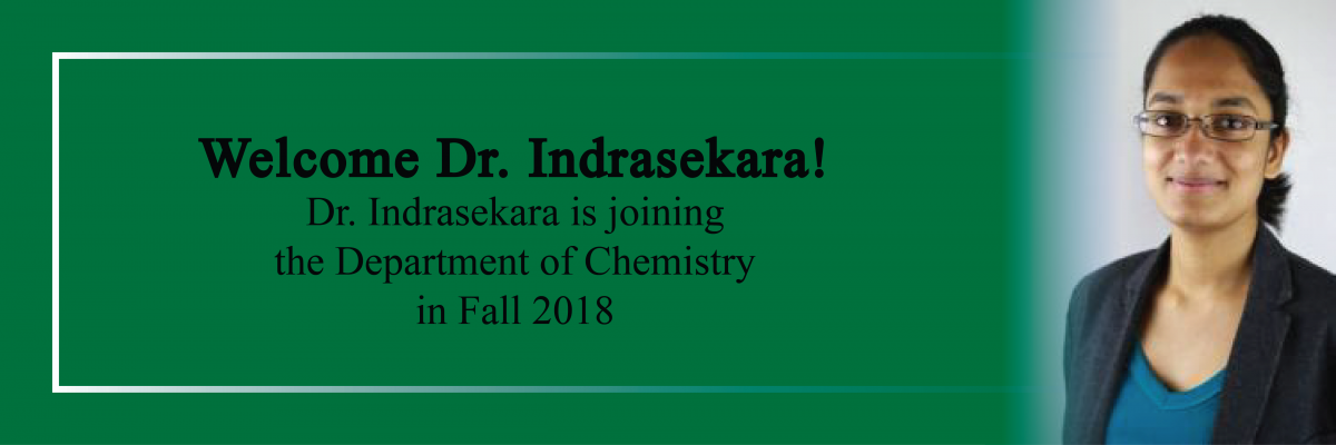 Welcome Dr. Indrasekara